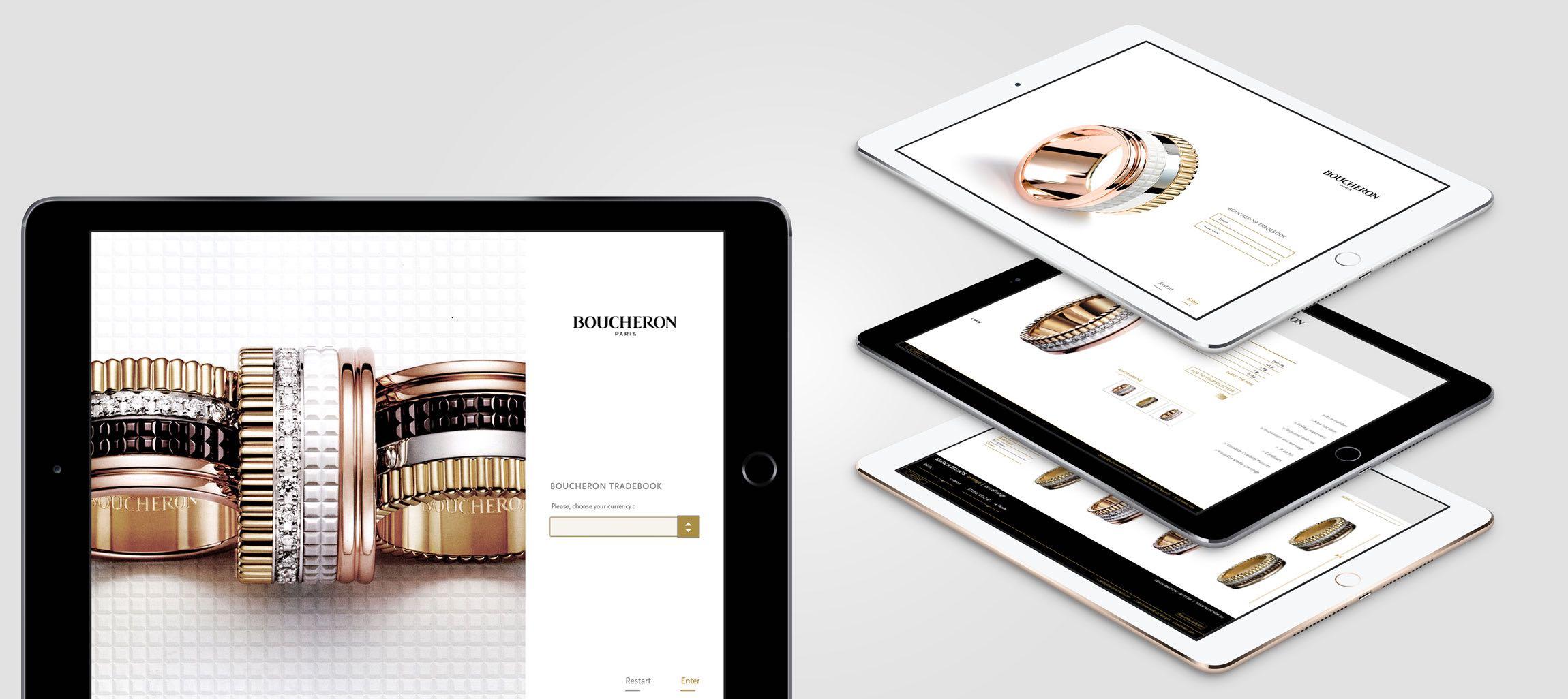 Catalogue digital web et mobile Boucheron